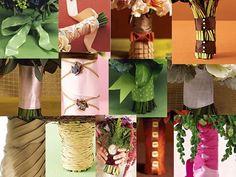 Bouquet wraps (ribbons)