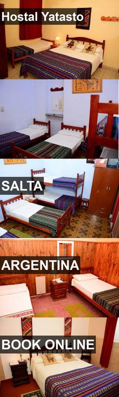 Hotel Hostal Yatasto in Salta, Argentina. For more information, photos, reviews and best prices please follow the link. #Argentina #Salta #travel #vacation #hotel