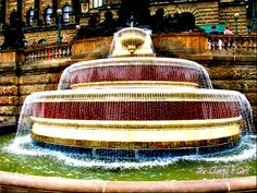Fountain in Prague Beauty Youtubers, Water Fountains, Water Me, European Countries, Czech Republic, Prague, To Go, Country, Designer Fonts