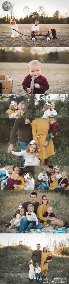 Fall family pictures, family of 5 poses, what to wear for family pictures, family style, family picture ideas...