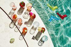 Bon Apetit Summer Editorial: Pool Party