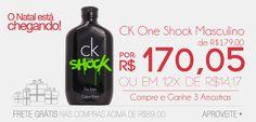 Perfume CK One Shock em Oferta!