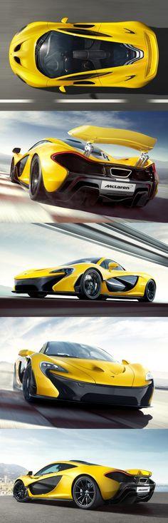 Visit The MACHINE Shop Café... (Best of McLaren @ MACHINE) Bright Acid Yellow McLaren P1