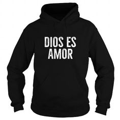 I Love dios es amor t shirt spanish christian message T shirts