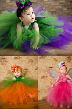 More tutu costumes, I think I'll make something similar for my little niece this year.
