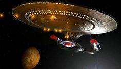 Star Trek Enterprise D Uss Enterprise Ncc 1701, Star Trek Enterprise, Star Trek 1, Star Trek Ships, Starfleet Ships, Star Trek Starships, Sci Fi Series, Star Trek Universe, Live Long