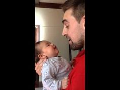Dad Sings To His Newborn Baby Girl And Her Response Brings Tears To Mom's Eyes.