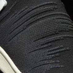 Adidas Stan Smith Sock Primeknit Sock Black Toebox