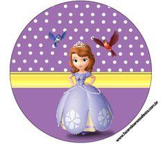 latinhas Princess Sofia Birthday, Sofia The First Birthday Party, Disney Princess Party, Mickey Mouse Parties, Mickey Mouse Birthday, Toy Story Party, Toy Story Birthday, Birthday Ideas, Cat Party