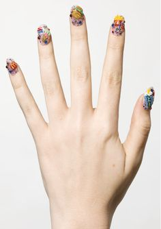 McDonalds nails You see everything on nails don't mess it up my order should be very percise