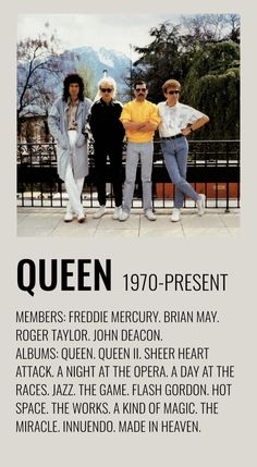 Rock Band Posters, Rock Poster, Music Covers, Album Covers, Series Poster, Queen Poster, Queens Wallpaper, Queen Aesthetic, A Kind Of Magic