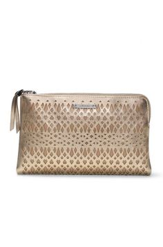 Add a metallic accent to your look with this Double Clutch in Metallic Perf by Stella Dot.   Shop this bag at www.stelladot.com/nicolecordova