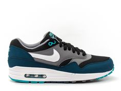 NIKE AIR MAX 1 ESSENTIAL - MIDNIGHT TURQUOISE