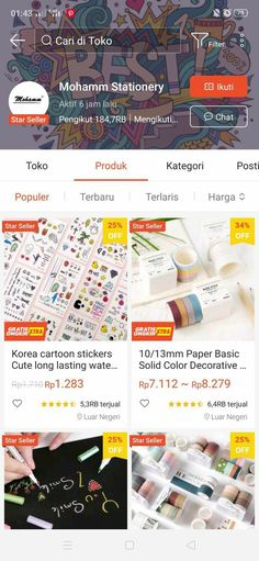 Best Online Clothing Stores, Online Shopping Sites, Online Shop Baju, Stationary Store, Life Hacks For School, Instagram Story Template, Beauty Care, Shops, Stationery