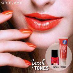 Warna  warna fresh seperti warna oranye ini cocok untuk hangout bareng BFFs on a nice summers day.