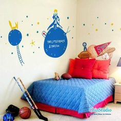 The little prince Children Wall Decals Nursery Decor Baby room
