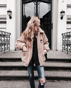grafika coat, fashion, and girl
