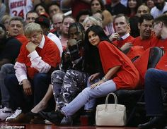 It's Scott to be the real deal! Kylie Jenner and rumoured new love interest Travis looked very cosy as they were pictured together for the first time at NBA game
