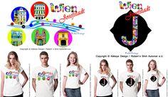 Beide, Dots Design, Design Products, Designs, Wordpress, City, T Shirt, Travel, Tee