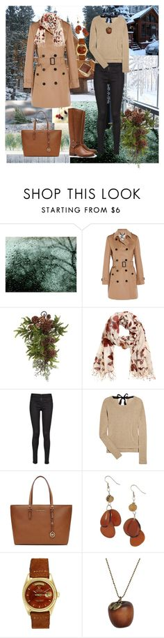 """""""Winter 2015/2016"""" by sarahguo ❤ liked on Polyvore featuring Edgewood, Burberry, Nearly Natural, H&M, Diesel, Miu Miu, Tory Burch, MICHAEL Michael Kors, Rolex and Emi Jewellery"""