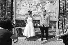 Novios en Coney Island