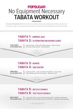 Fat-Blasting, Full-Body Tabata Workout
