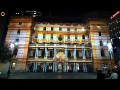 This is a treat for the eyes, wish I could have seen it. Vivid Sydney Festival 2011 - Customs House projection