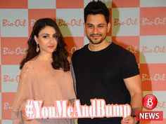 Kunal Kemmu shares a cute picture of Soha Ali Khan and her baby bump