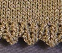 Learn a New Technique – Picot Hem.
