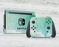 Nintendo Switch with Neon Blue and Neon Red Joy-Con (Discontinued by Manufacturer) Nintendo Switch Accessories, Gaming Accessories, Nintendo Switch Case, Gaming Room Setup, Gadgets And Gizmos, Cute Gif, Games For Girls, Animal Quotes, Vinyl