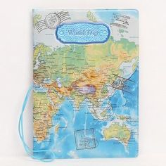3d world map click to open expanded view passport holder arrived fashion miss love travel passport cover id credit card bag 3d design pvc leather business card gumiabroncs Images