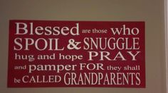 Grandparents Sign by WordArtTreasures on Etsy, $19.00
