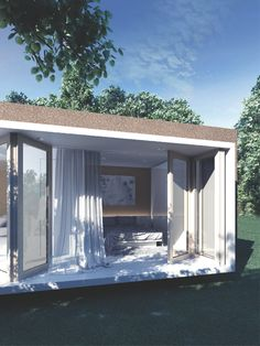 Portable Homes Portugal offers mobile homes, modular houses, portable bungalows and land packages for sale and rent. Portable House, Lodges, Bungalow, Cork, Gazebo, Aquarium, Portugal, Outdoor Structures, Holiday