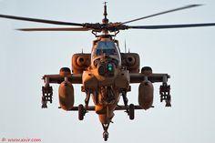 AH-64A Apache Peten/Mamba Israel Air Force by xnir