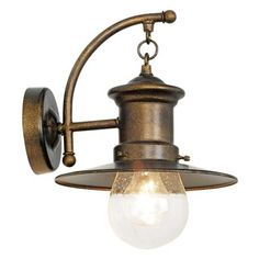 """$85 Maritime Collection 12"""" High Outdoor Wall Light"""