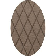 Dalyn Rug Co. Dover Stone Area Rug Rug Size: Oval 5' x 8'