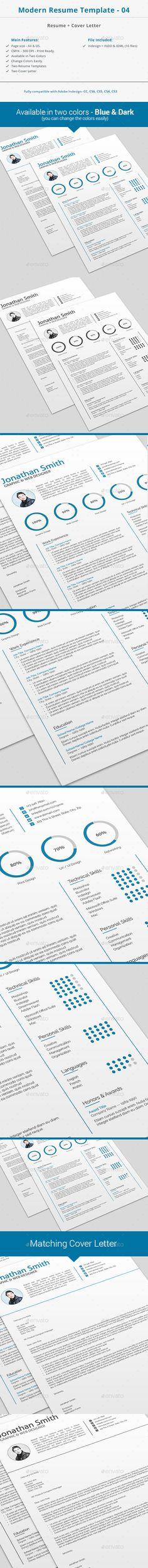 Modern Resume Template 04 18 best