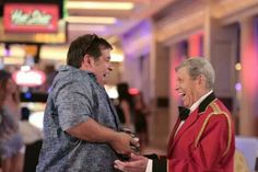 Leandro Hassum and Jerry Lewis in a scene from Till Luck do Us Part 2 - 2013