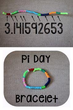 Pi Day Bracelet
