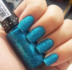 Hits Glitter Forte in teal