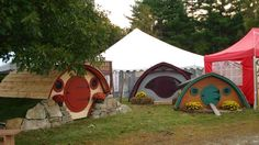 Hobbit Holes for Work or Play