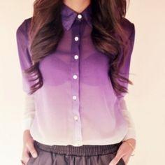 Блузка на кнопках