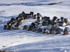 Casas en Chapa Verde, región del Libertador Bernardo O'Higgins (imágenes de Conociendo Chile)