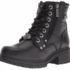 online shopping for Harley-Davidson Harley-Davidson Women's Inman Mills Motorcycle Boot from top store. See new offer for Harley-Davidson Harley-Davidson Women's Inman Mills Motorcycle Boot Best Motorcycle Boots, Moto Boots, Shoe Boots, Motorcycle Gear, Motorcycle Fashion, Motorcycle Jackets, Women's Boots, Steel Toe Boots Women, Harley Davidson Merchandise