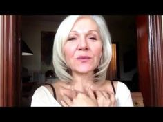 Sexy Over 50- Daily Lymphatic Drainage Massage How to get rid of baggy eyes - YouTube