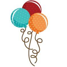 Polka Dot Balloon Bouquet SVG file balloon svg file cute balloons svg files birthday svg cut files free svgs