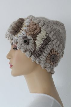 Freeform  Crochet Hat    Winter Accessories  by levintovich