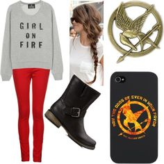The Hunger Games  Polyvore
