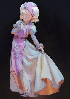 Princess Zelda from Ocarina of Time