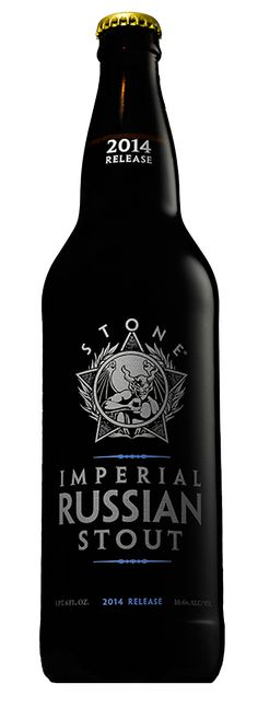 3.5/5 - good but not great - 2014 Stone Imperial Russian Stout